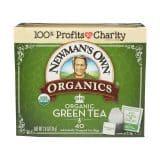 Newmans Own Organics Green Tea