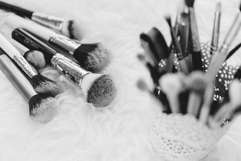 organic makeup for kids brushes