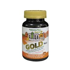 NaturesPlus Animal Parade Gold Organic Multivitamin for Toddlers and Children