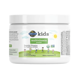 Best Organic Multivitamin for Toddlers with 15 Essential Vitamins &Minerals, Organic, Non GMO & Gluten Free