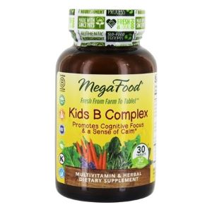 MegaFood Kiddies B Complex All Natural Mineral-Vitamin B Complex