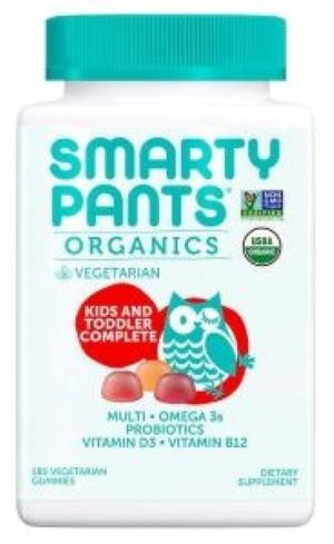 Smarty Pants Organics Kids Complete