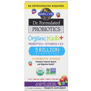 second best organic vitamin for toddlers