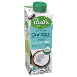 Pacific Foods Organic Coconut Milk, Unsweetened Original