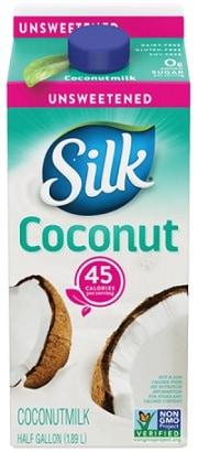 Silk Unsweet Coconut Milk - Coconut Milk Without Guar Gum