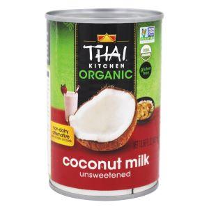 Thai Kitchen Unsweetened Organic Coconut Milk - Healthiest Coconut Milk