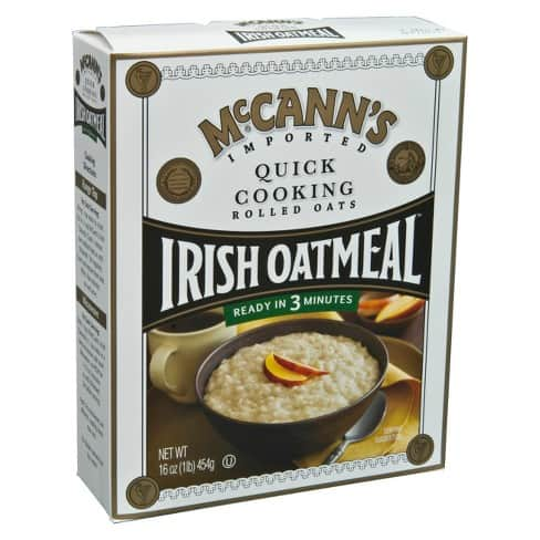 #2 McCann's Irish Oatmeal – Best for Users with Digestive Problems