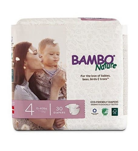 Bamboo Nature Eco-Friendly Baby Diapers