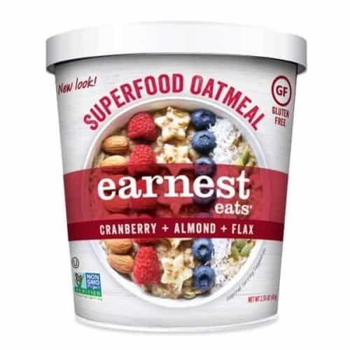 Earnest Eats Gluten-Free Superfood Oatmeal – Best Instant Breakfast Option