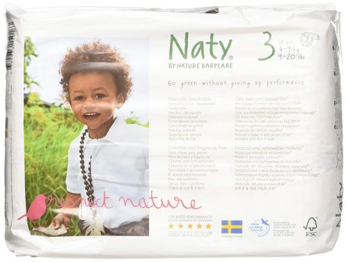 Eco By Naty Eco-Friendly Premium Disposable Diapers – Best Organic Certified Diaper