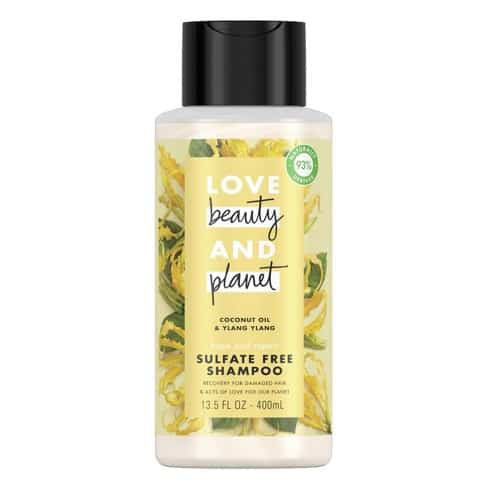 Love Beauty and Planet Rose Hair Shampoo and Conditioner – Best Detangling Shampoo