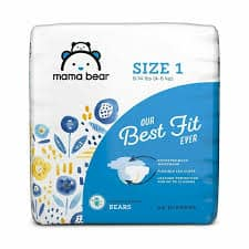 Mama Bear Best Fit Diapers – Best Natural Diapers with Wetness Indicator