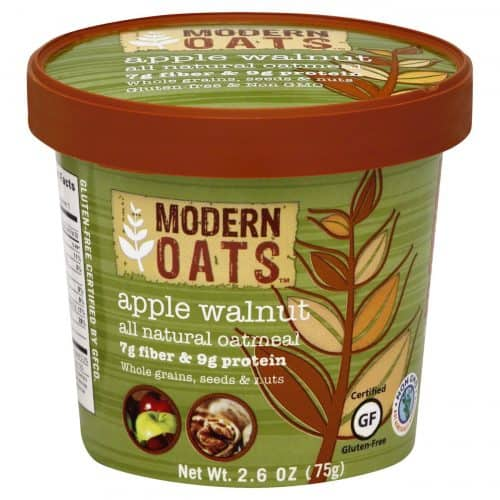 Modern Oats Apple Walnut Oatmeal – Most Flavorful Instant Natural Oatmeal