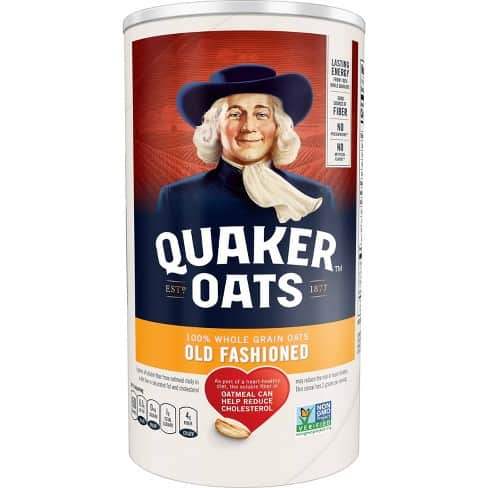 Quaker Old-Fashioned Rolled Oats – Best Oatmeal for making Oatmeal Cookies