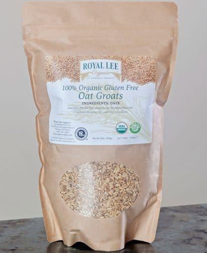 Royal Lee Organics Gluten-Free Oat Groats – Best Whole Grain Oat Groats