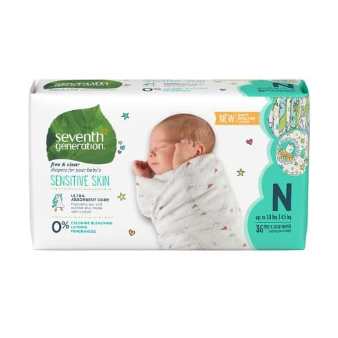 Seventh Generation Organic Baby Diaper – Best Inked Organic Diaper
