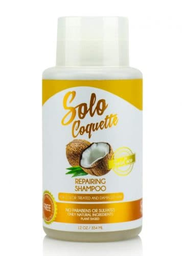 SoloCoquette Repairing Shampoo – Best Shampoo for Damaged Hair