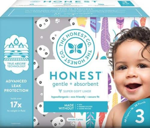 The Honest Company Club Box – Best Natural Diapers for Night Use