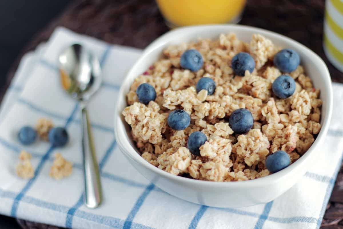 best organic oatmeal with blueberies