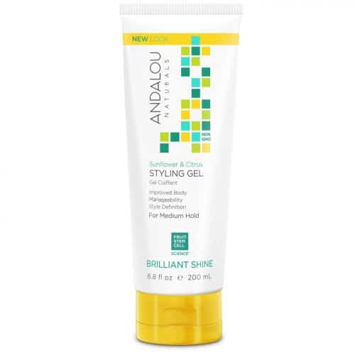 Andalou Naturals Sunflower and Citrus Styling Gel