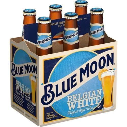 Blue Moon Belgian-Style Wheat Ale Beer