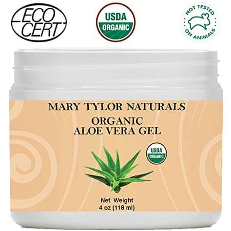 Mary Taylor Naturals Organic Aloe Vera Gel