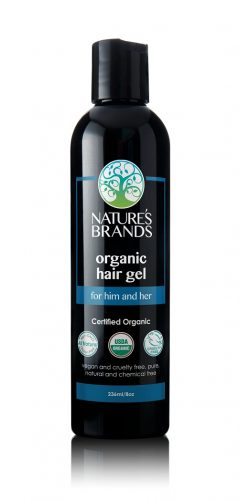 Nature's Brand Organic Hair Gel