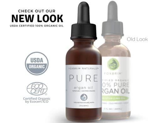 Foxbrim Naturals Pure Organic Argan Oil – Best Pure Virgin Oil