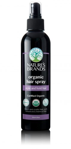 Nature's Brands Organic Hair Spray