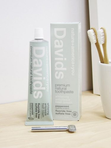 David's Natural Whitening Toothpaste