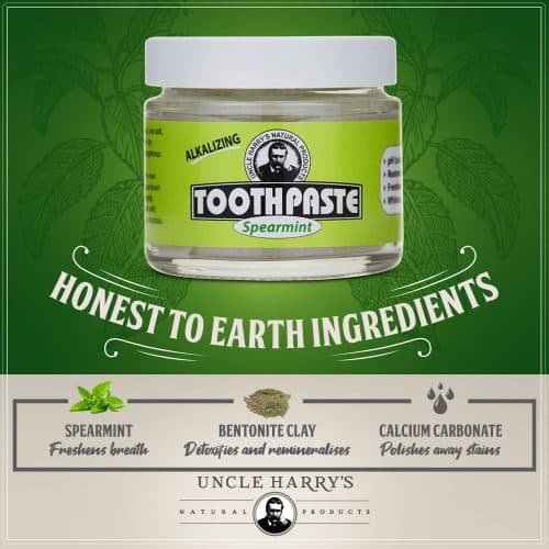 Uncle Harry's Remineralizing Organic Toothpaste