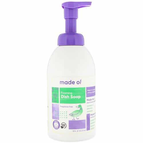 Made of Foaming Organic Baby Dish Soap